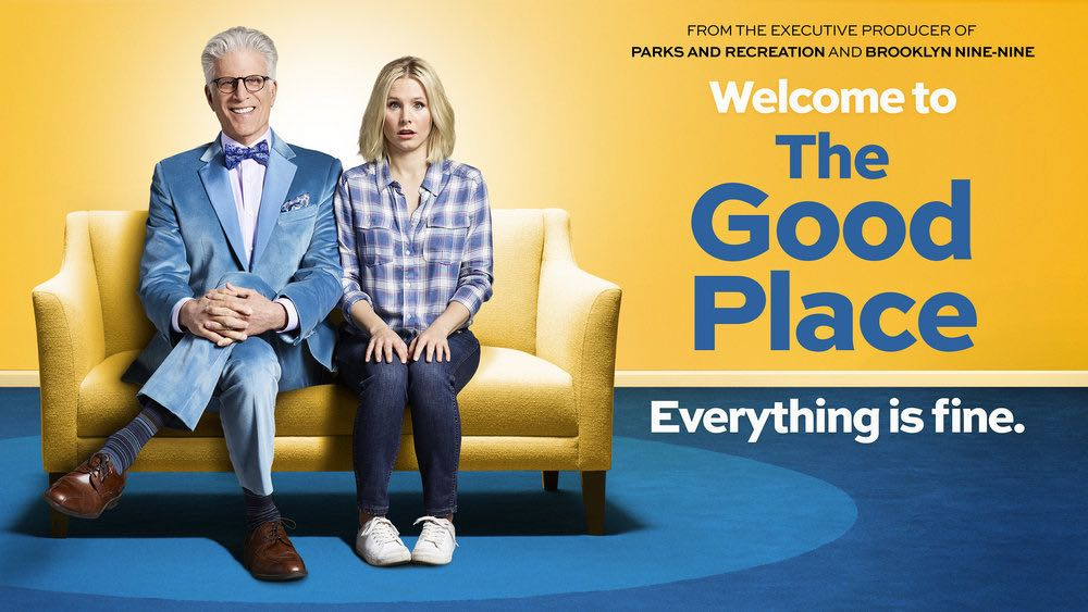 """THE GOOD PLACE -- Pictured: """"The Good Place"""" Horizontal Key Art -- (Photo by: NBCUniversal)"""
