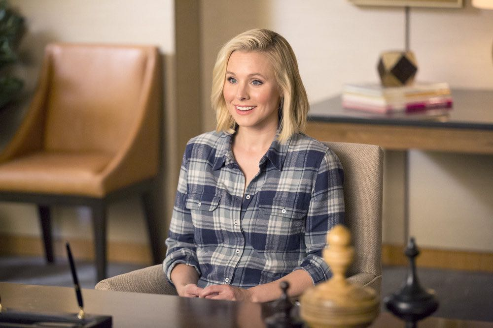 """THE GOOD PLACE -- """"Everything Is Fine"""" Episode 101-- Pictured: Kristen Bell as Eleanor -- (Photo by: Justin Lubin/NBC)"""