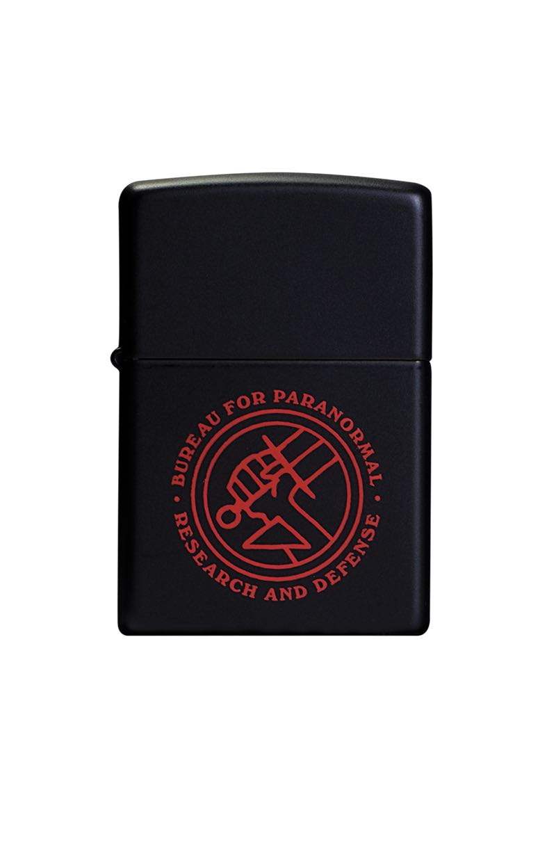 B.P.R.D. Zippo Lighter $40.00 Zippo brand lighter with the B.P.R.D. logo printed on the front. Limited edition of 500 5 per person per day