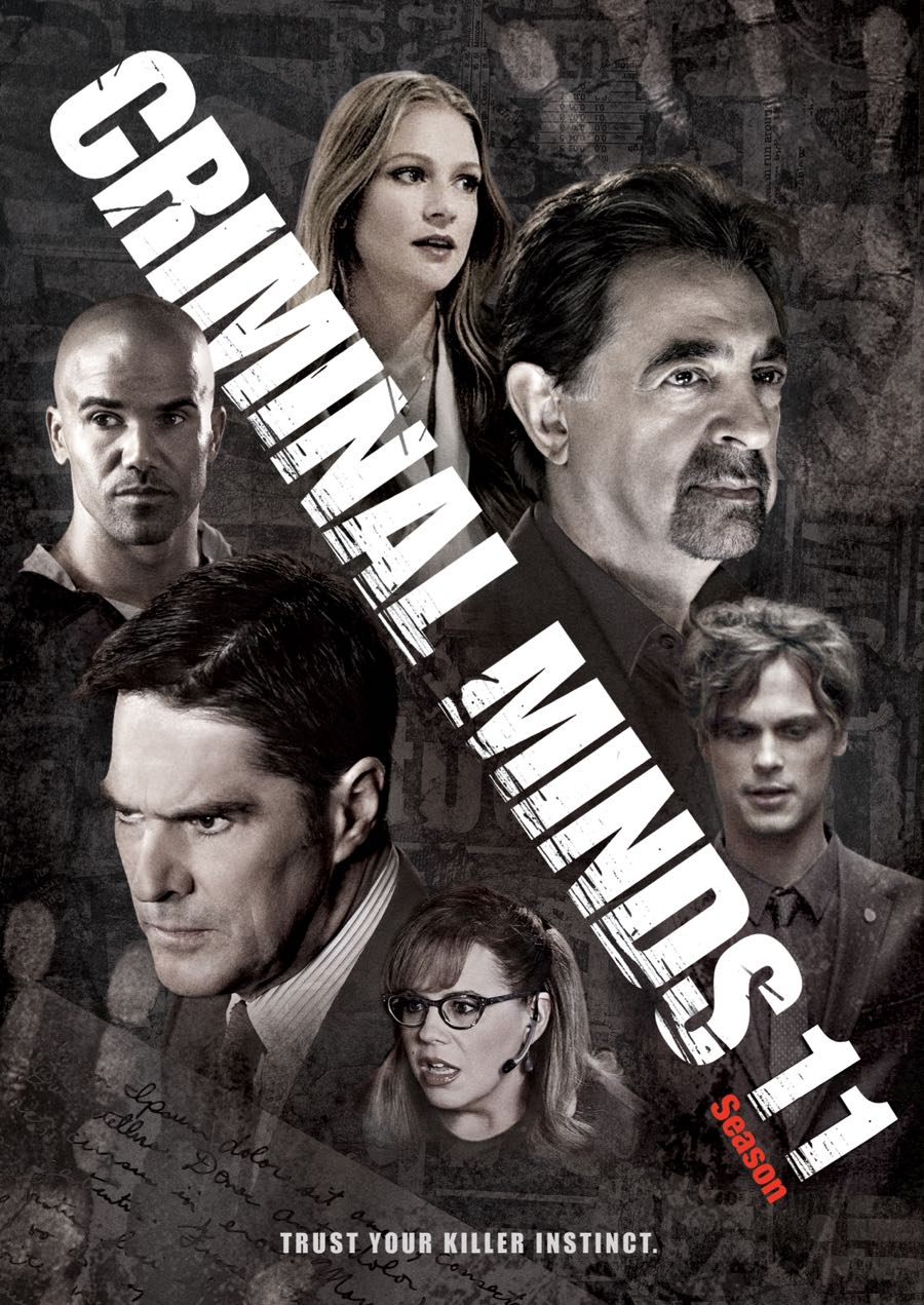 CRIMINAL MINDS Season 11 DVD-1
