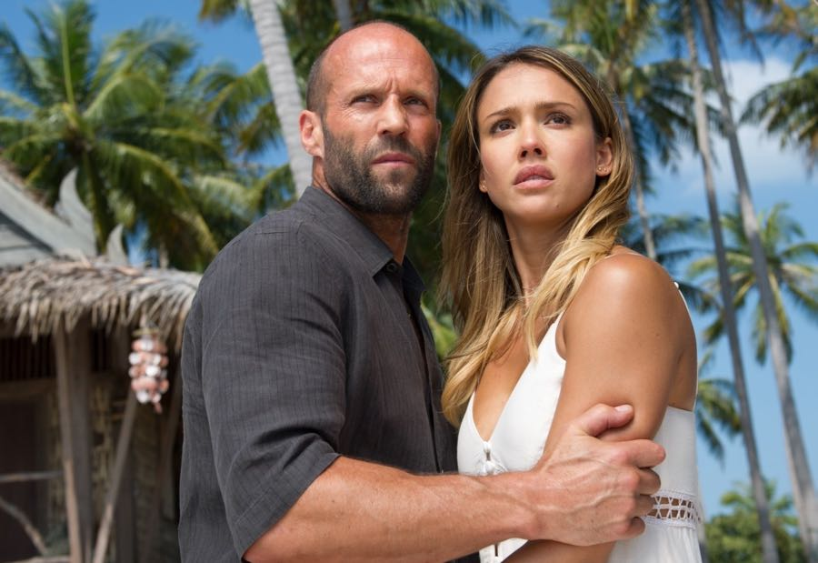 Jason Statham, Jessica Alba in Mechanic: Resurrection