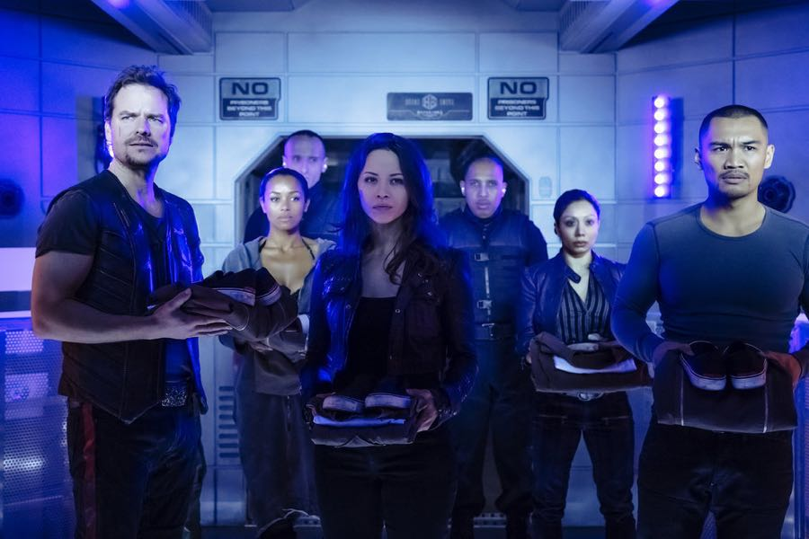 DARK MATTER Season 2 Episode 1 Photos Welcome To Your New