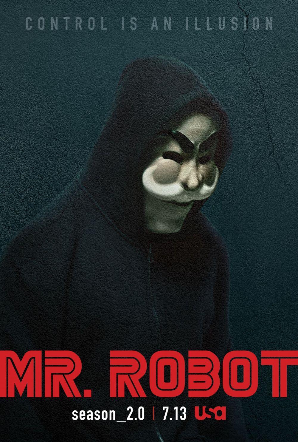 Mr Robot Season 2 Poster USA Network 2