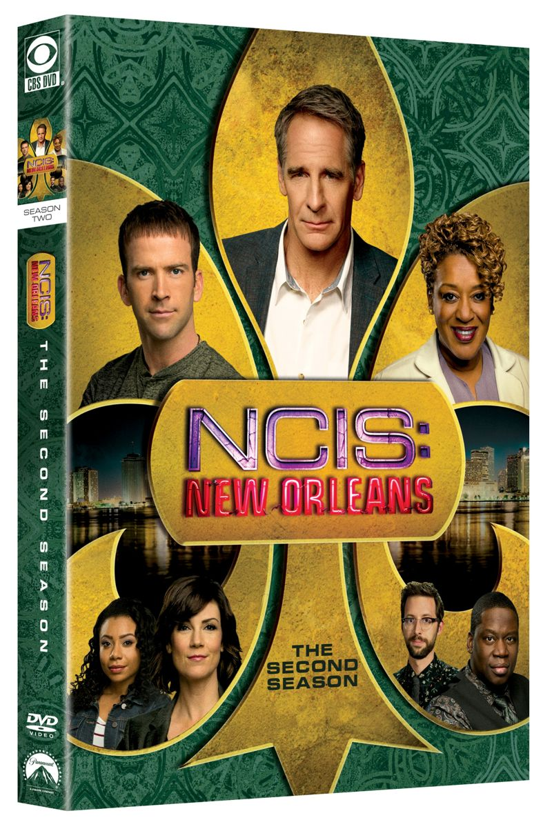 NCIS New Orleans Season 2 DVD Cover 3D