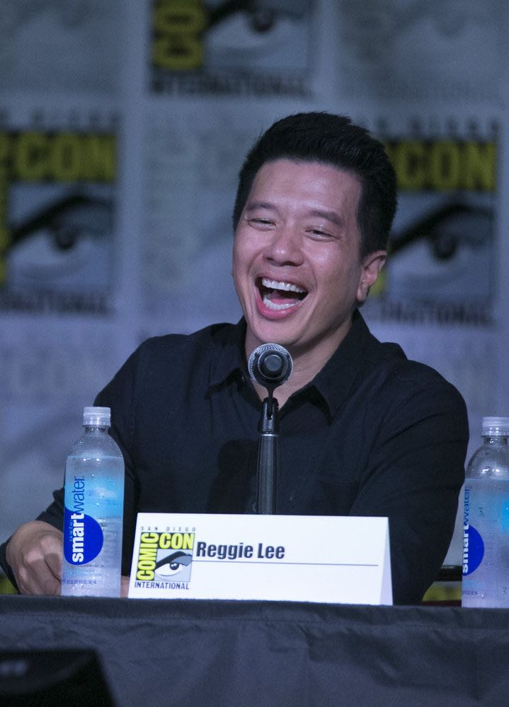 """COMIC-CON INTERNATIONAL: SAN DIEGO 2016 -- """"Grimm Panel"""" -- Pictured: Reggie Lee, Saturday, July 23, 2016, from the San Diego Convention Center, San Diego, Calif. -- (Photo by: Mark Davis/NBC)"""