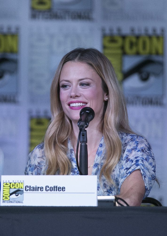 """COMIC-CON INTERNATIONAL: SAN DIEGO 2016 -- """"Grimm Panel"""" -- Pictured: Claire Coffee, Saturday, July 23, 2016, from the San Diego Convention Center, San Diego, Calif. -- (Photo by: Mark Davis/NBC)"""