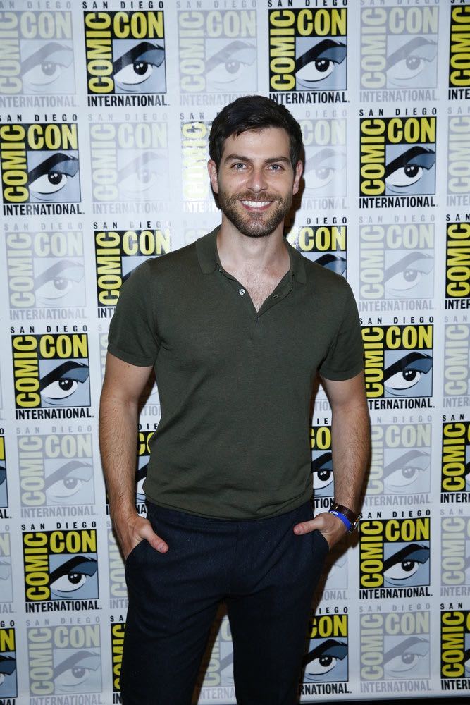 "COMIC-CON INTERNATIONAL: SAN DIEGO 2016 -- ""Grimm Panel and Press Room"" -- Pictured: David Giuntoli, Friday, July 22, 2016, from the Hilton Bayfront, San Diego, Calif. -- (Photo by: Mark Davis/NBC)"