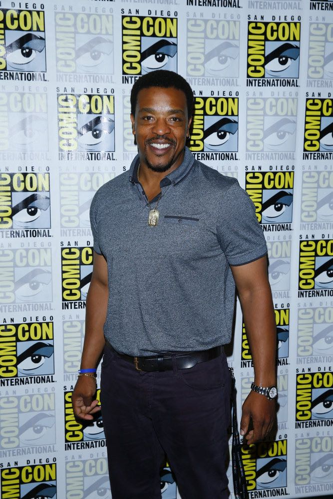"""COMIC-CON INTERNATIONAL: SAN DIEGO 2016 -- """"Grimm Panel and Press Room"""" -- Pictured: Russell Hornsby, Friday, July 22, 2016, from the Hilton Bayfront, San Diego, Calif. -- (Photo by: Mark Davis/NBC)"""