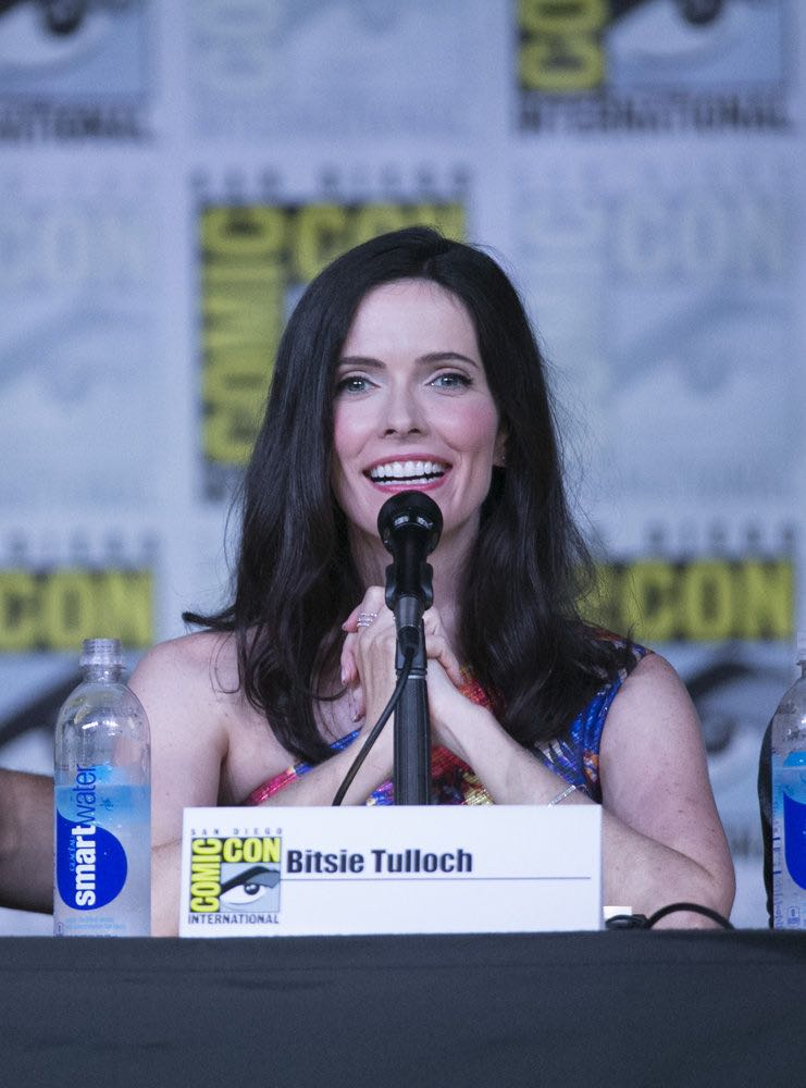 "COMIC-CON INTERNATIONAL: SAN DIEGO 2016 -- ""Grimm Panel"" -- Pictured: Bitsie Tulloch, Saturday, July 23, 2016, from the San Diego Convention Center, San Diego, Calif. -- (Photo by: Mark Davis/NBC)"