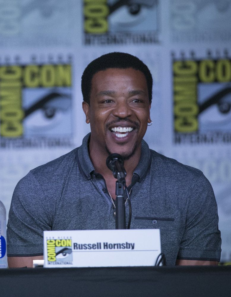 "COMIC-CON INTERNATIONAL: SAN DIEGO 2016 -- ""Grimm Panel"" -- Pictured: Russell Hornsby, Saturday, July 23, 2016, from the San Diego Convention Center, San Diego, Calif. -- (Photo by: Mark Davis/NBC)"