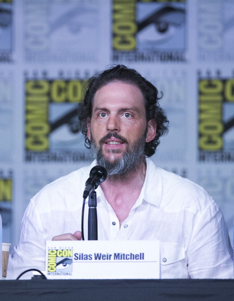 """COMIC-CON INTERNATIONAL: SAN DIEGO 2016 -- """"Grimm Panel"""" -- Pictured: Silas Weir Mitchell, Saturday, July 23, 2016, from the San Diego Convention Center, San Diego, Calif. -- (Photo by: Mark Davis/NBC)"""