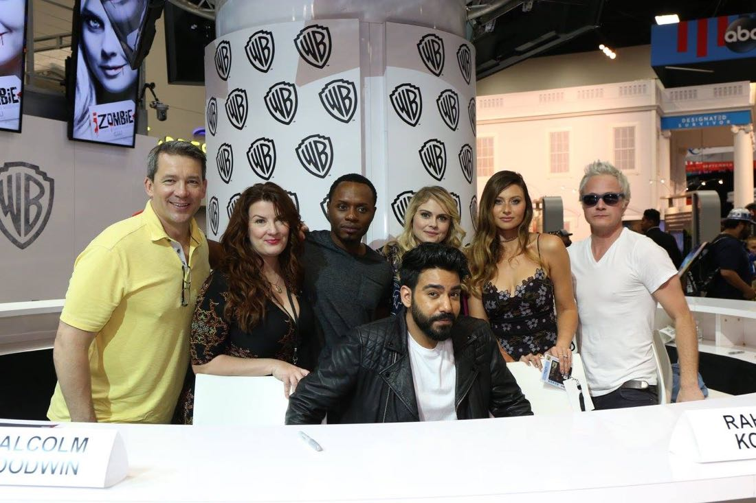 iZombie Cast Comic Con 2016-2