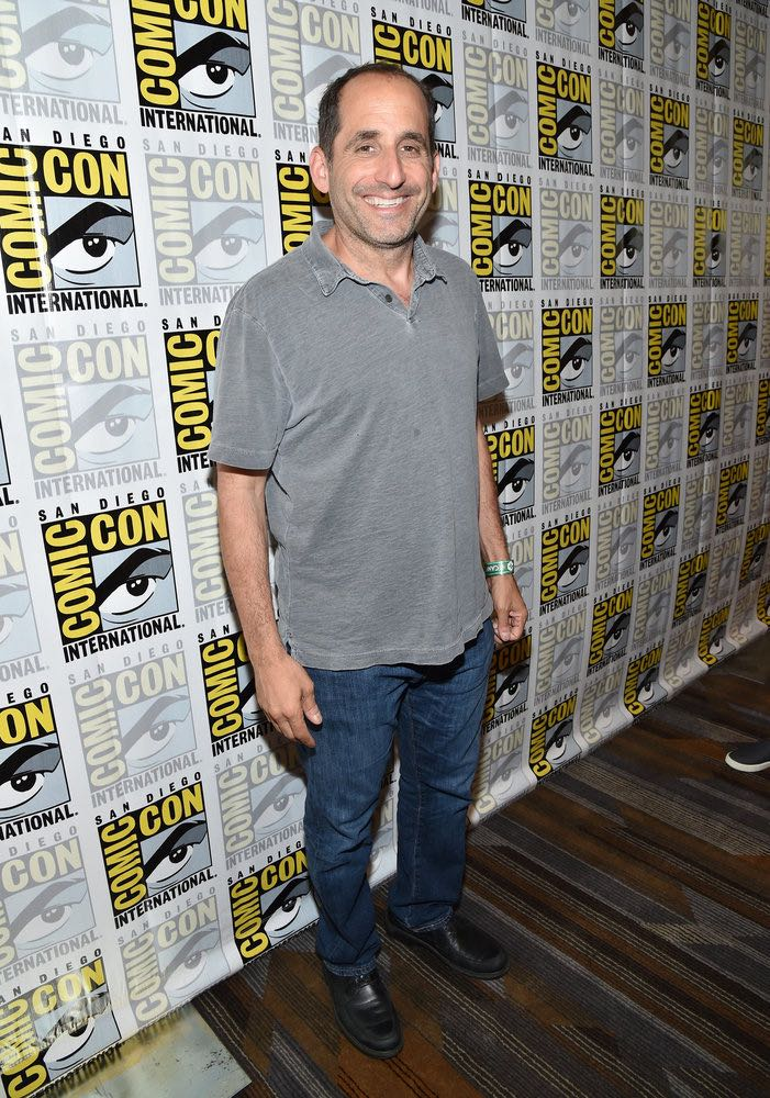 "COMIC-CON INTERNATIONAL: SAN DIEGO -- ""Colony Press Room"" -- Pictured: Peter Jacobson-- (Photo by: Mike Windle/USA Network)"
