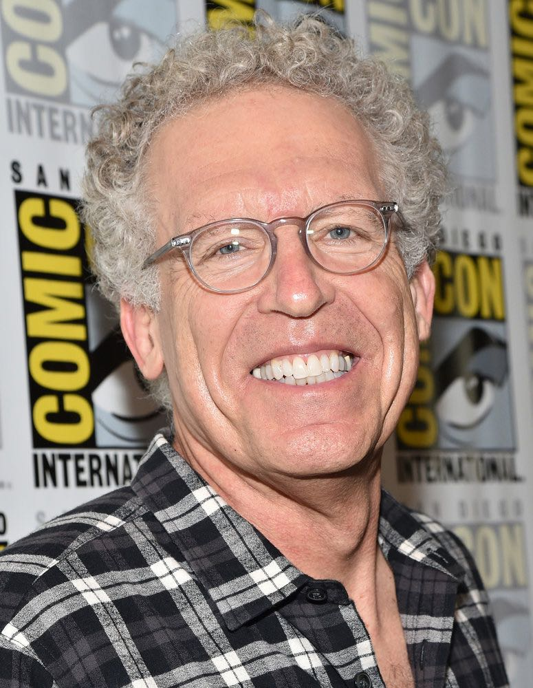 """COMIC-CON INTERNATIONAL: SAN DIEGO -- """"Colony Press Room"""" -- Pictured: Carlton Cuse -- (Photo by: Mike Windle/USA Network)"""