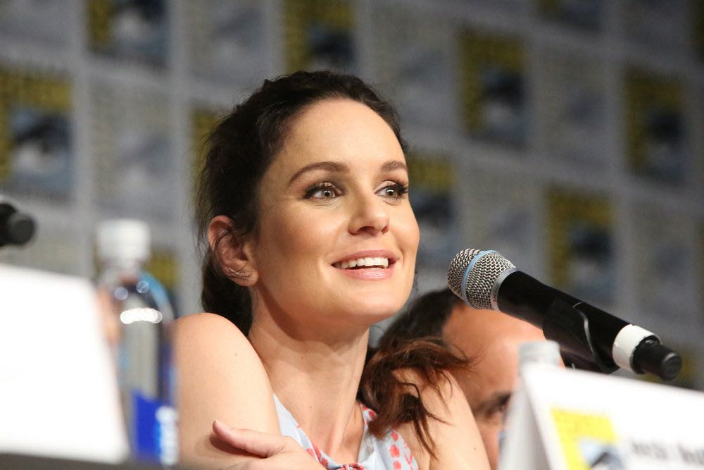 "COMIC-CON INTERNATIONAL: SAN DIEGO -- ""Colony Panel"" -- Pictured: Sarah Wayne Callies -- (Photo by: Evans Vestal Ward/USA Network)"