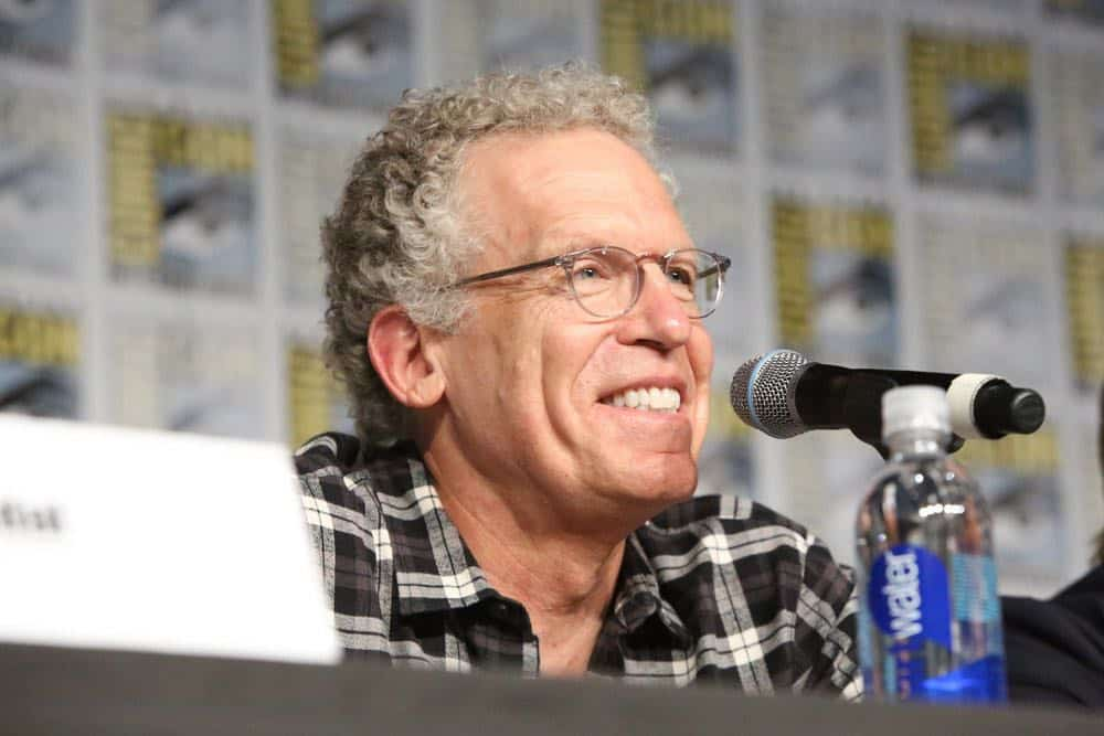 """COMIC-CON INTERNATIONAL: SAN DIEGO -- """"Colony Panel"""" -- Pictured: Executive producer Carlton Cuse -- (Photo by: Evans Vestal Ward/USA Network)"""