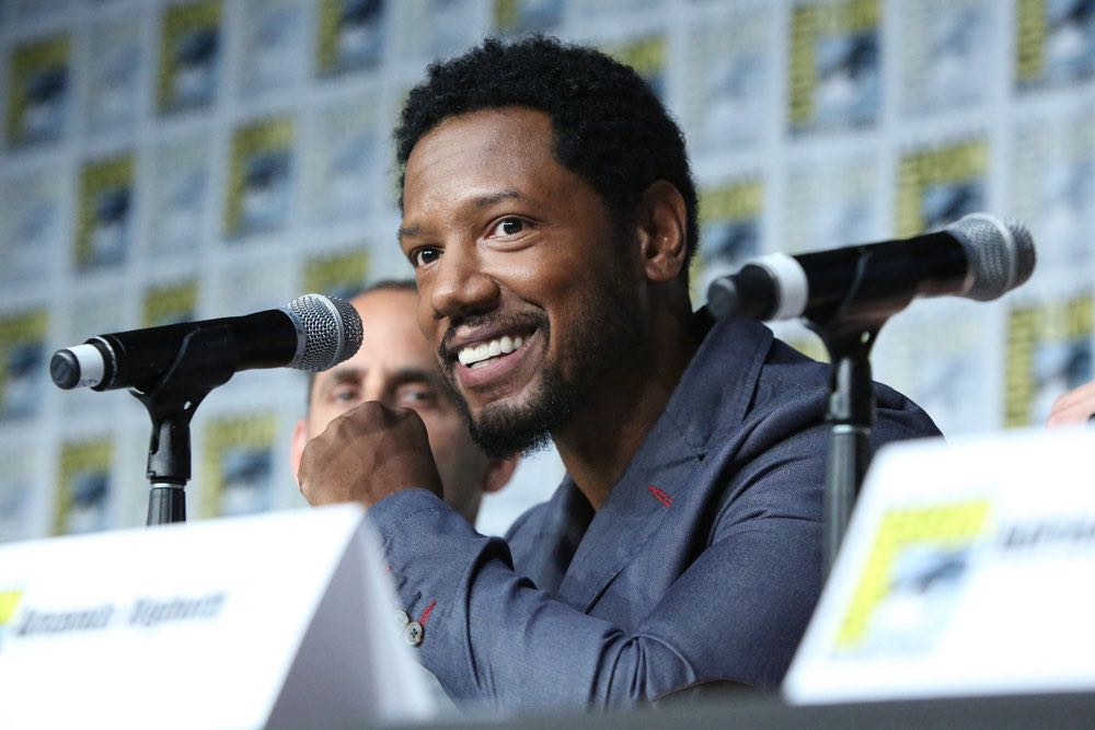 """COMIC-CON INTERNATIONAL: SAN DIEGO -- """"Colony Panel"""" -- Pictured: Tory Kittles -- (Photo by: Evans Vestal Ward/USA Network)"""