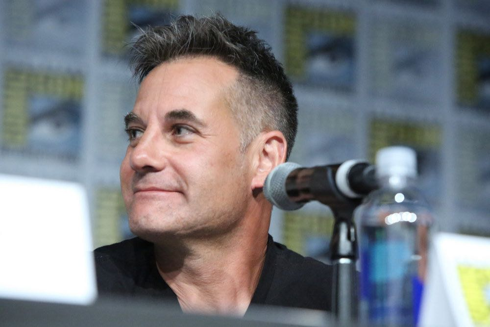 """COMIC-CON INTERNATIONAL: SAN DIEGO -- """"Colony Panel"""" -- Pictured: Adrian Pasdar -- (Photo by: Evans Vestal Ward/USA Network)"""