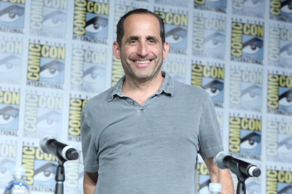 "COMIC-CON INTERNATIONAL: SAN DIEGO -- ""Colony Panel"" -- Pictured: Peter Jacobson -- (Photo by: Evans Vestal Ward/USA Network)"