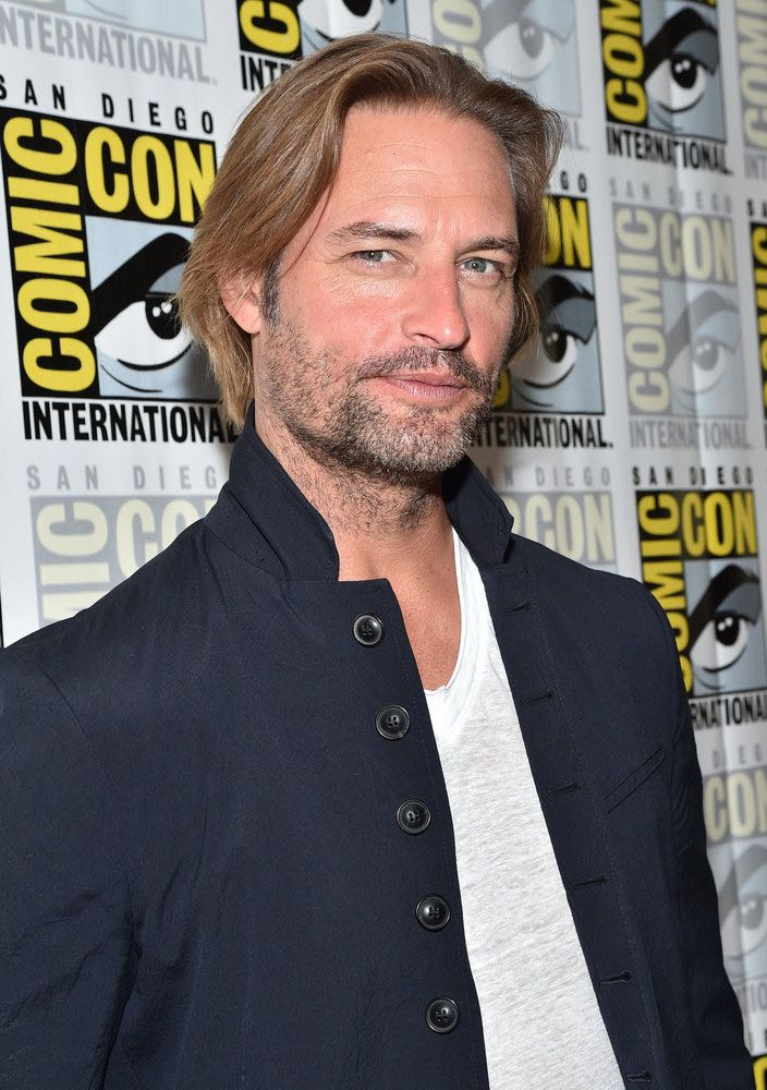 """COMIC-CON INTERNATIONAL: SAN DIEGO -- """"Colony Press Room"""" -- Pictured: Josh Holloway -- (Photo by: Mike Windle/USA Network)"""