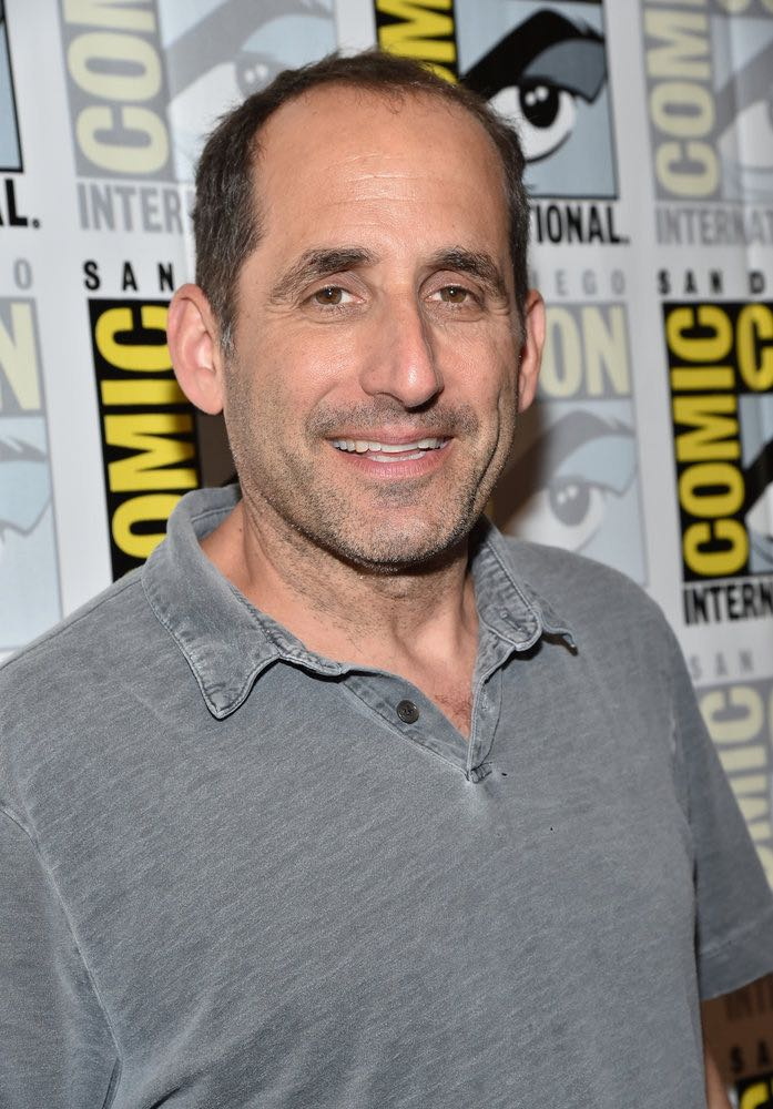 """COMIC-CON INTERNATIONAL: SAN DIEGO -- """"Colony Press Room"""" -- Pictured: Peter Jacobson -- (Photo by: Mike Windle/USA Network)"""