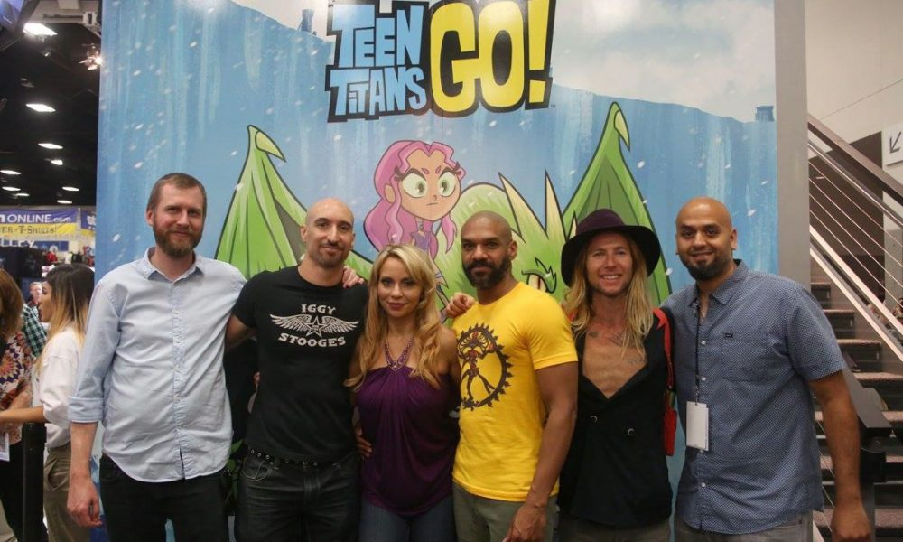 Sdcc Photos  Teen Titans Go Signing  Seat42F-8497