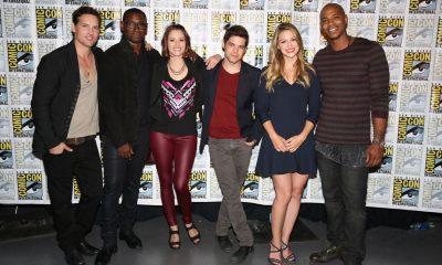 Supergirl Cast Comic Con