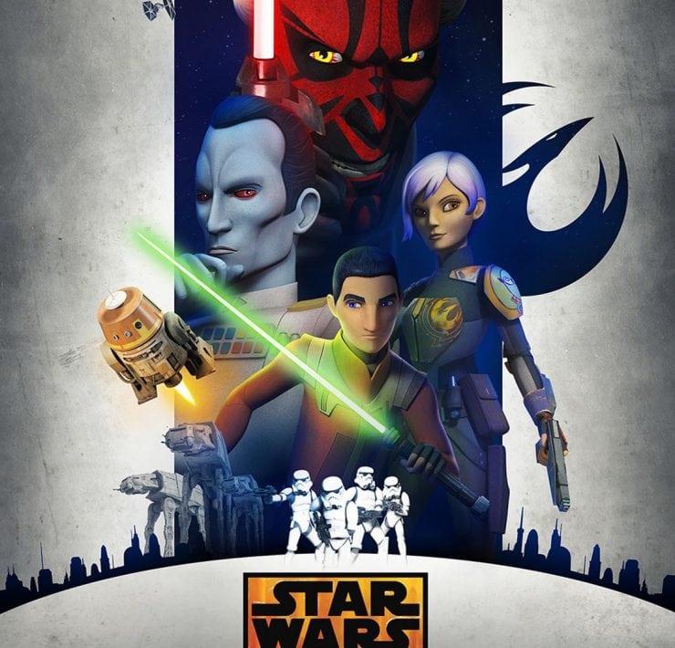 STAR WARS REBELS Season 3 Poster Key Art