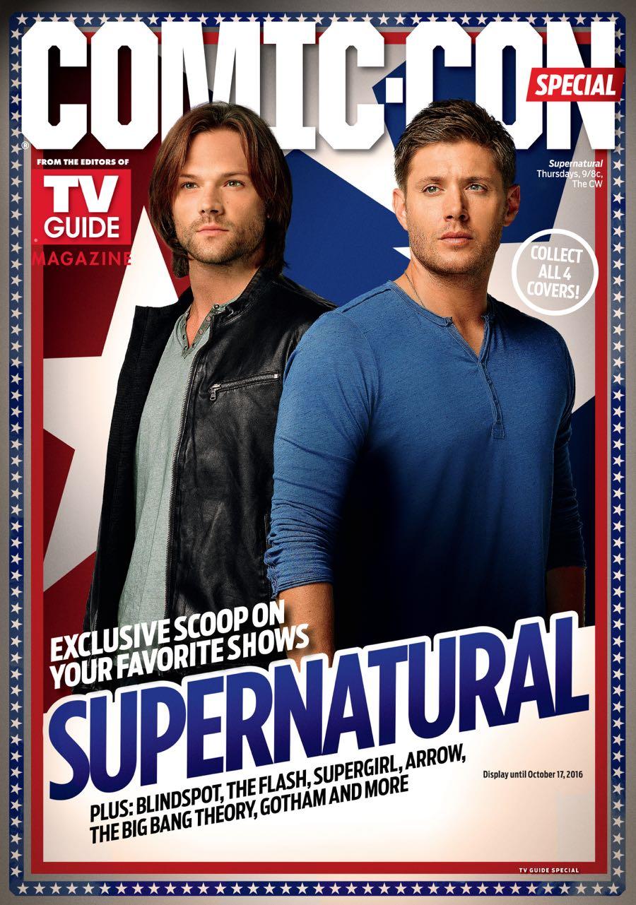 Supernatural TVGM Cover WBSDCC 2016