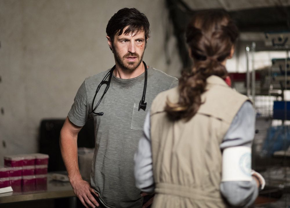 """THE NIGHT SHIFT-- """"Emergent"""" Episode 312 -- Pictured: Eoin Macken as T.C. Callahan -- (Photo by: Cathy Kanavy/NBC)"""