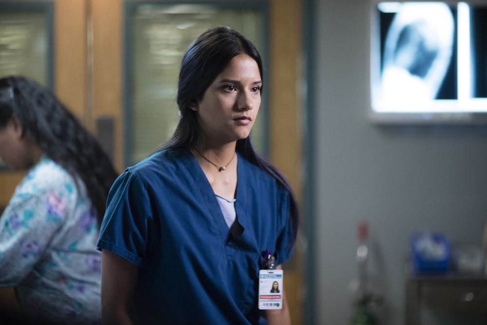 "THE NIGHT SHIFT-- ""Emergent"" Episode 312 -- Pictured: Tanaya Beatty as Dr. Shannon Rivera -- (Photo by: Cathy Kanavy/NBC)"