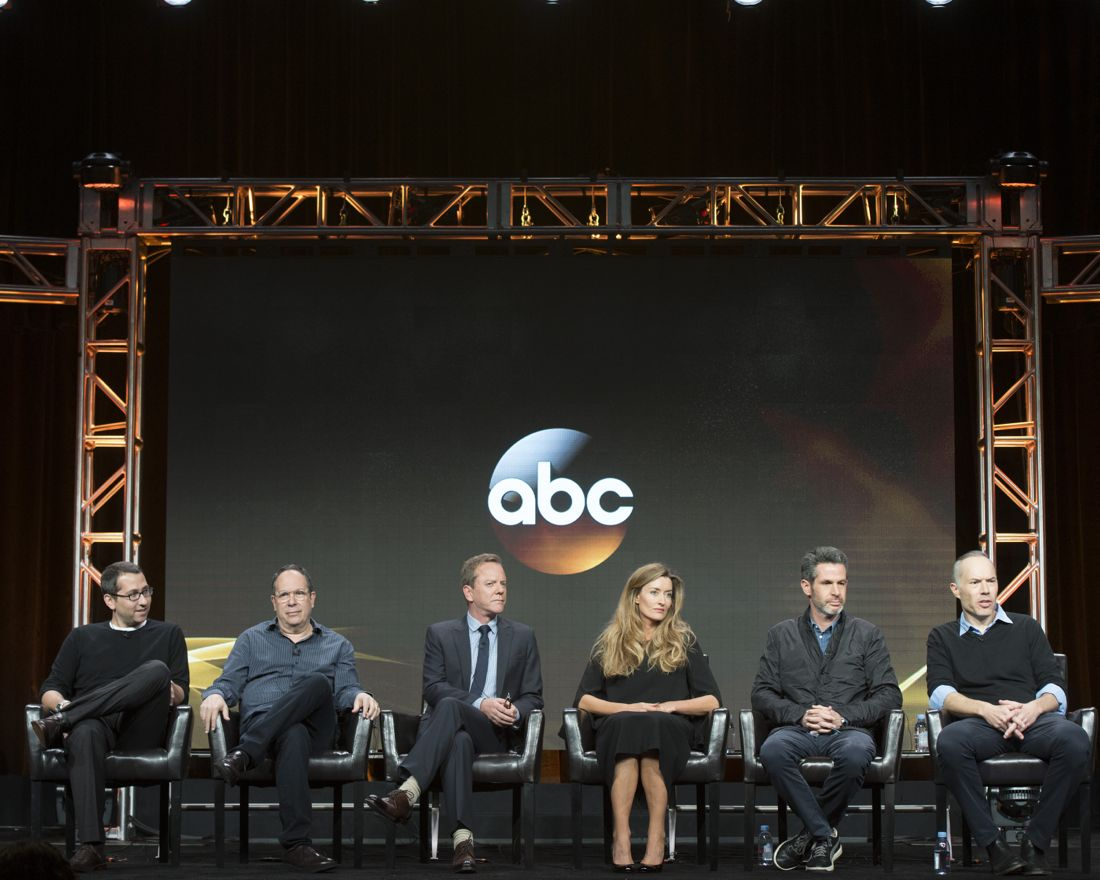 """TCA SUMMER PRESS TOUR 2016 - The cast and producers of ABC's """"Designated Survivor"""" at Disney 