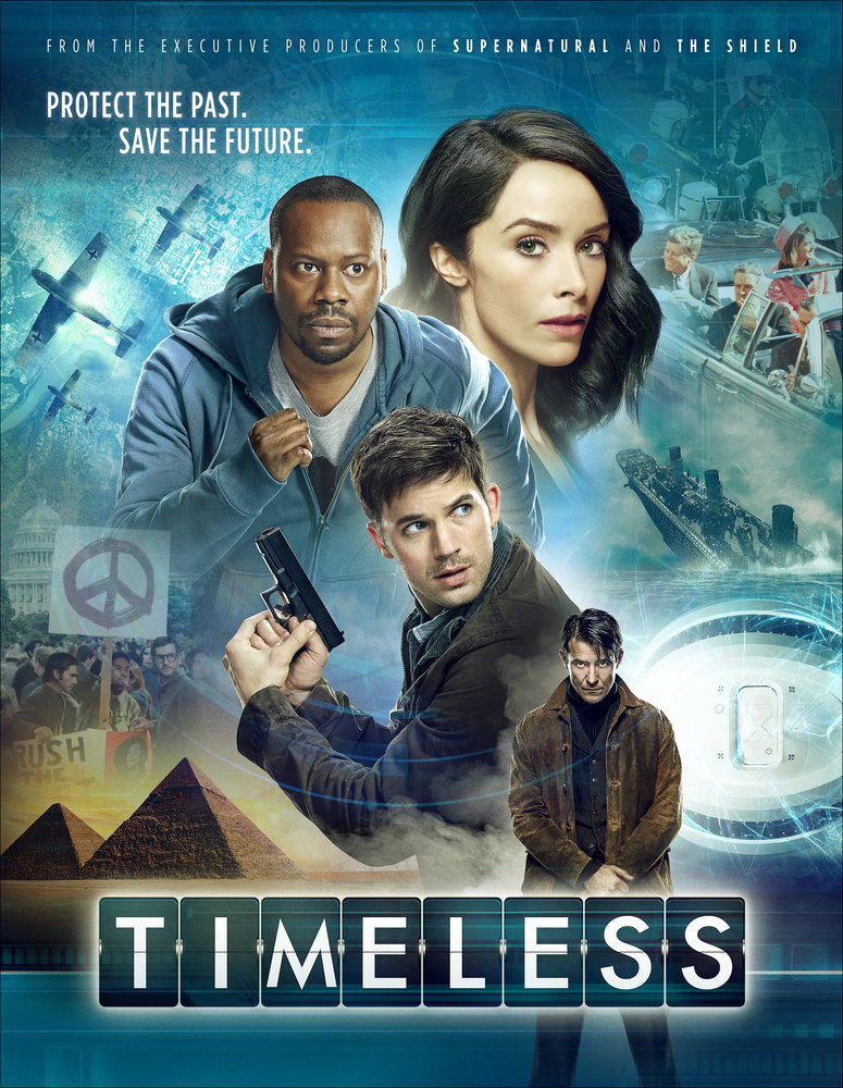 "TIMELESS -- Pictured: ""Timeless"" Vertical Key Art -- (Photo by: NBCUniversal)"