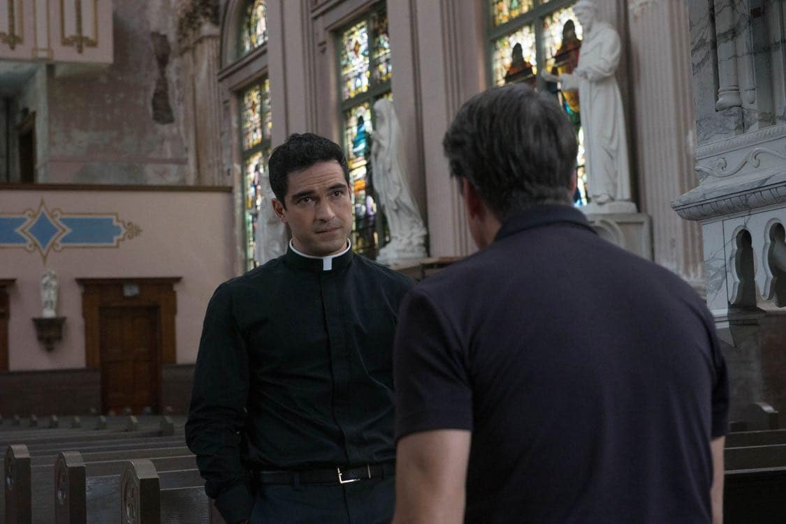 "THE EXORCIST: Alfonso Herrera in the ""Chapter Three: Let 'Em In"" episode of THE EXORCIST airing Friday, Oct. 7 (9:00-10:00 PM ET/PT) on FOX. ©2016 Fox Broadcasting Co. Cr: Jean Whiteside/FOX"