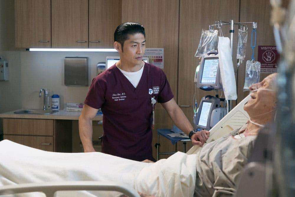 "CHICAGO MED -- ""Brother's Keeper"" Episode 204 -- Pictured: Brian Tee as Ethan Choi -- (Photo by: Elizabeth Sisson/NBC)"