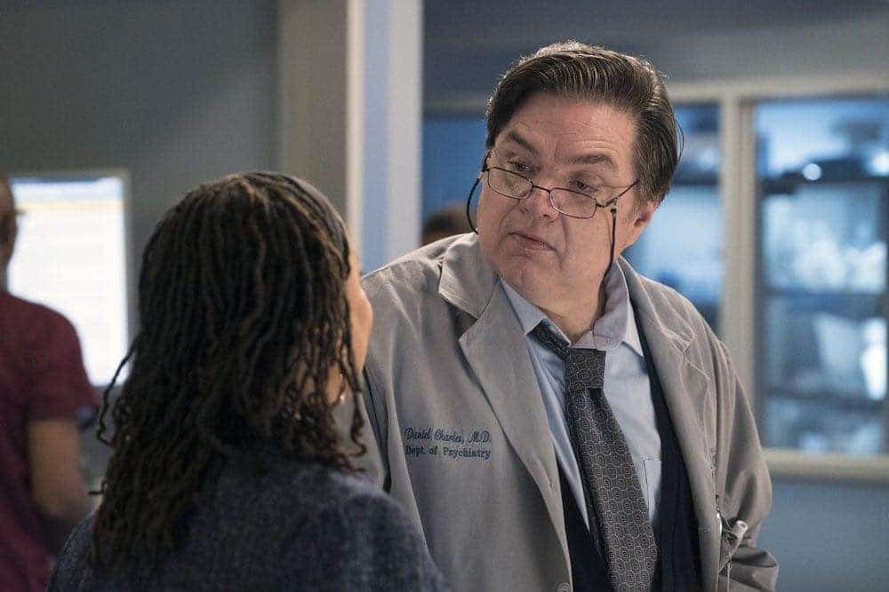 "CHICAGO MED -- ""Brother's Keeper"" Episode 204 -- Pictured: Oliver Platt as Daniel Charles -- (Photo by: Elizabeth Sisson/NBC)"