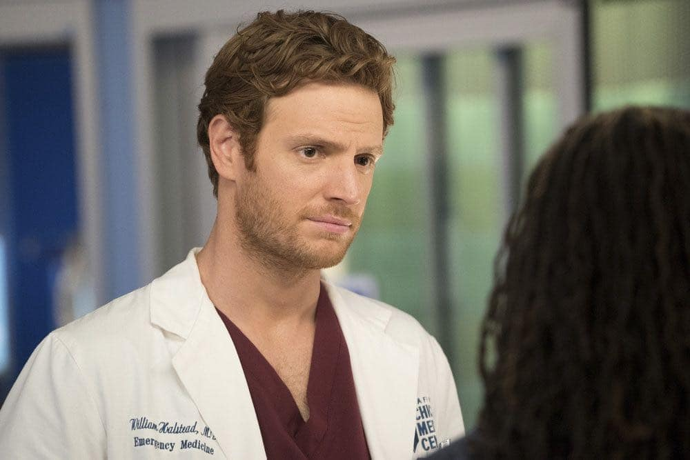 "CHICAGO MED -- ""Brother's Keeper"" Episode 204 -- Pictured: Nick Gehlfuss as Will Halstead -- (Photo by: Elizabeth Sisson/NBC)"