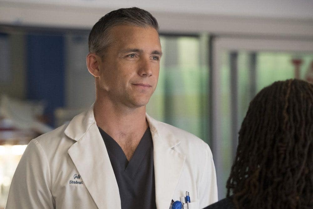 "CHICAGO MED -- ""Brother's Keeper"" Episode 204 -- Pictured: Jeff Hephner as Jeff Clarke -- (Photo by: Elizabeth Sisson/NBC)"