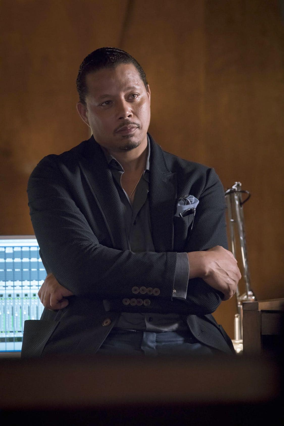 """EMPIRE: Terrence Howard in the """"What Remains is Bestial"""" episode of EMPIRE airing Wednesday, Oct. 5 (9:00-10:00 PM ET/PT) on FOX. ©2016 Fox Broadcasting Co. CR: Chuck Hodes/FOX"""