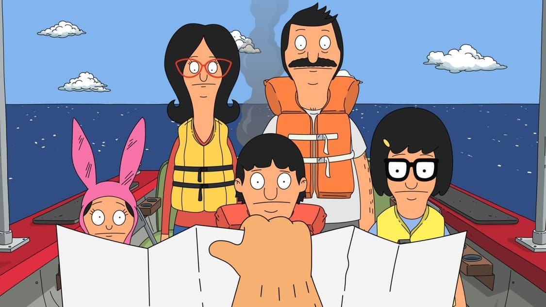 "BOB'S BURGERS: Teddy organizes a day trip on his newly refurbished boat in an effort to impress his ex-wife, Denise. Meanwhile, Tina attempts to show that she is responsible enough for a cell phone by taking care of Bob's prized eraser from the restaurant in the ""Sea Me Now"" episode of BOB'S BURGERS airing Sunday, Sept. 9 (7:30-8:00 PM ET/PT) on FOX. BOB'S BURGERS ™ and © 2016 TCFFC ALL RIGHTS RESERVED. CR: FOX"