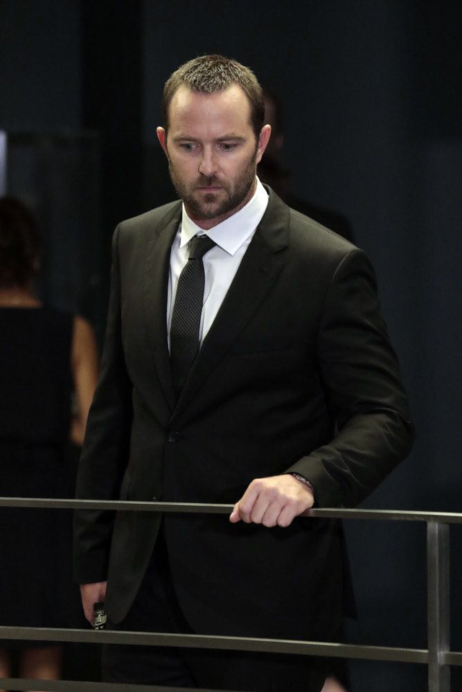 "BLINDSPOT -- ""If Beth"" Episode 204 -- Pictured: Sullivan Stapleton as Kurt Weller -- (Photo by: Giovanni Ruffino/NBC)"