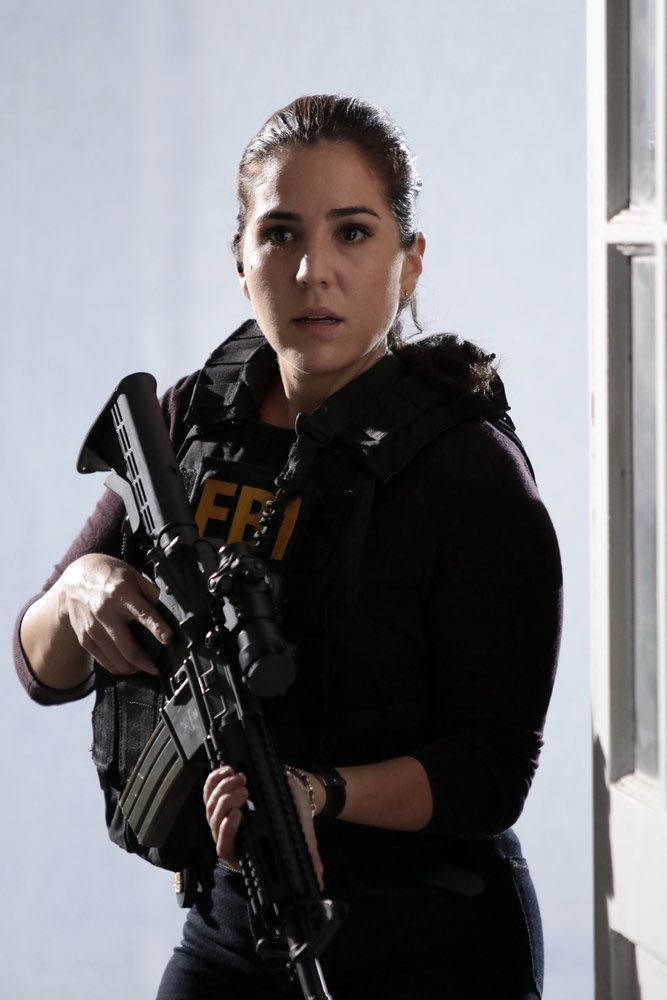 "BLINDSPOT -- ""If Beth"" Episode 204 -- Pictured: Audrey Esparza as Tasha Zapata -- (Photo by: Giovanni Ruffino/NBC)"