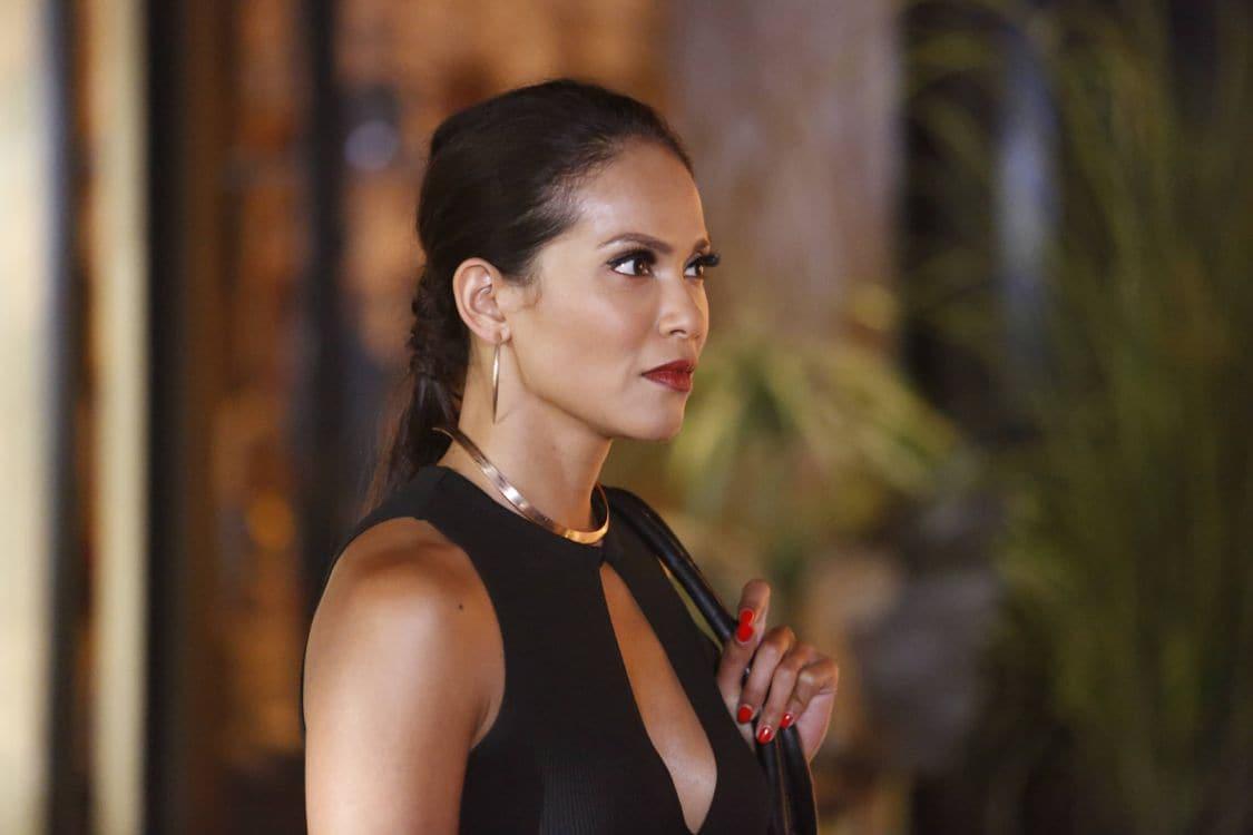 "LUCIFER: Lesley-Ann Brandt in the ""Liar, Liar, Slutty Dress on Fire"" episode of LUCIFER airing Monday, Oct. 3 (9:01-10:00 PM ET/PT) on FOX. Cr: Bettina Strauss/FOX."
