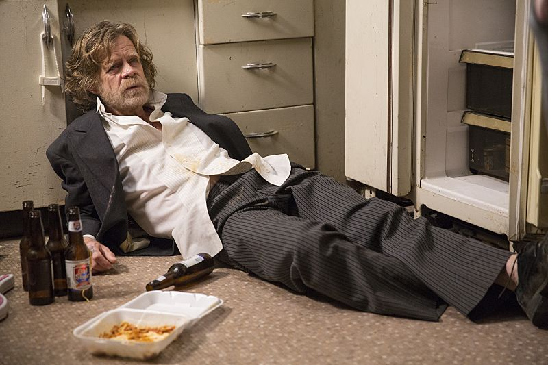 William H. Macy as Frank Gallagher in Shameless (Season 7, episode 1) - Photo: Cliff Lipson/SHOWTIME - Photo ID: shameless_701_1438