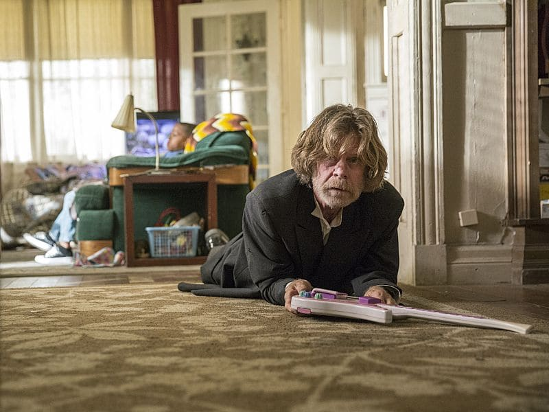William H. Macy as Frank Gallagher in Shameless (Season 7, episode 1) - Photo: Cliff Lipson/SHOWTIME - Photo ID: shameless_701_0066