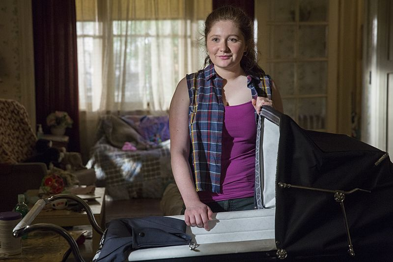 Emma Kenney as Debbie Gallagher in Shameless (Season 7, episode 1) - Photo: Cliff Lipson/SHOWTIME - Photo ID: shameless_701_0716