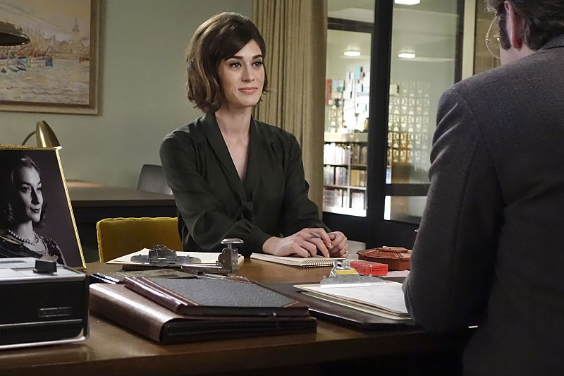 Lizzy Caplan as Virginia Johnson in Masters of Sex (season 4, episode 4) - Photo: Warren Feldman/SHOWTIME - Photo ID: MastersofSex_404_0633