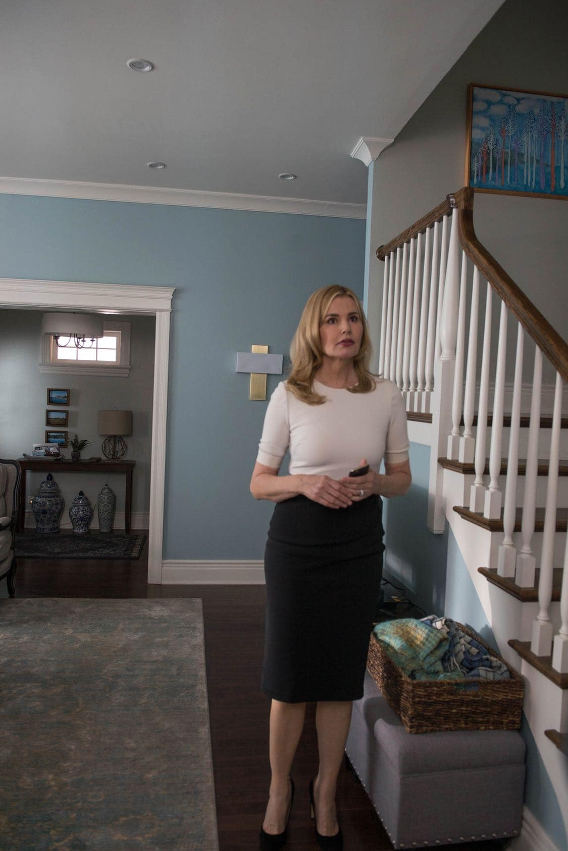 "THE EXORCIST: Geena Davis in the ""Lupus in Fabula"" episode of THE EXORCIST airing Friday, Sept. 30 (9:00-10:00 PM ET/PT) on FOX. ©2016 Fox Broadcasting Co. Cr: Jean Whiteside/FOX"