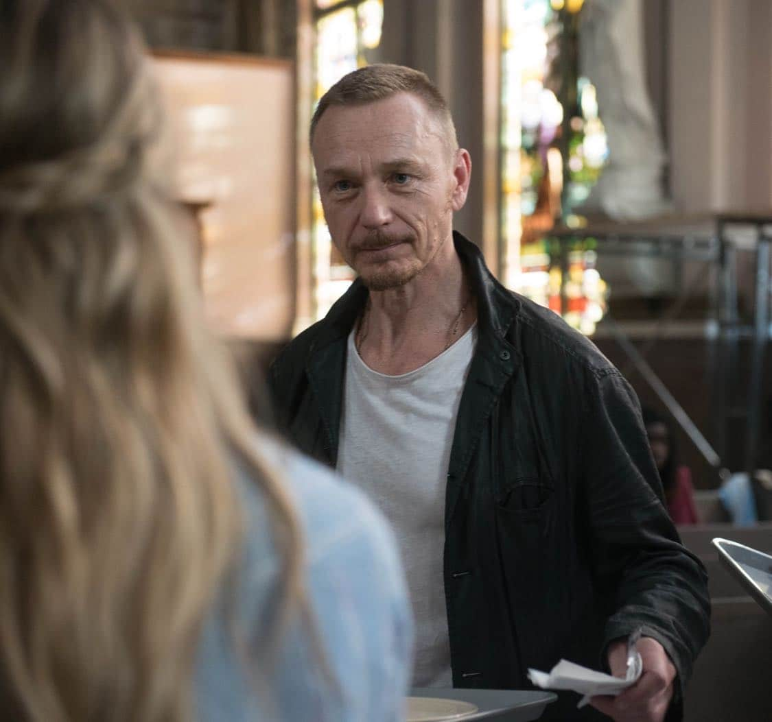 "THE EXORCIST: Ben Daniels in the ""Lupus in Fabula"" episode of THE EXORCIST airing Friday, Sept. 30 (9:00-10:00 PM ET/PT) on FOX. ©2016 Fox Broadcasting Co. Cr: Jean Whiteside/FOX"