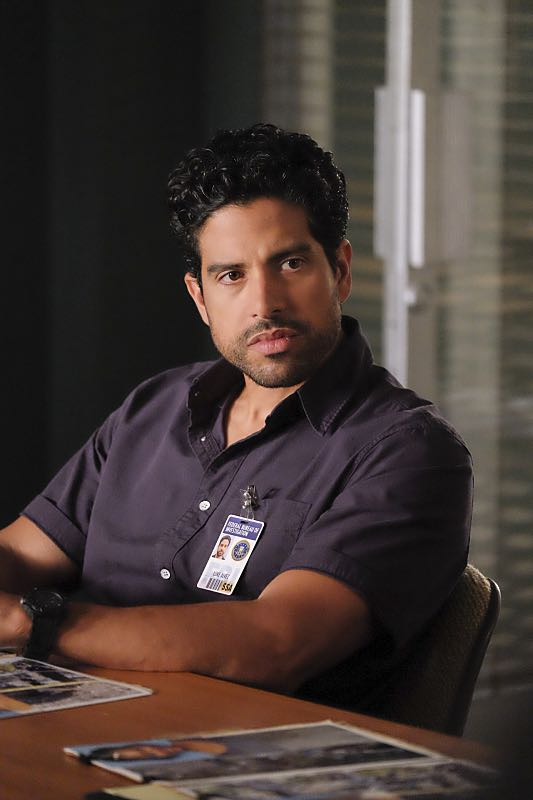"""Taboo"" -- The BAU team is called upon to investigate when the bodies of three women are discovered encased in concrete in 55-gallon drums, on CRIMINAL MINDS, Wednesday, Oct. 12, 2016 (9:00-10:00 PM, ET/PT), on the CBS Television Network. Pictured: Adam Rodriguez (Luke Alvez) Photo: Darren Michaels/CBS ©2016 CBS Broadcasting, Inc. All Rights Reserved"